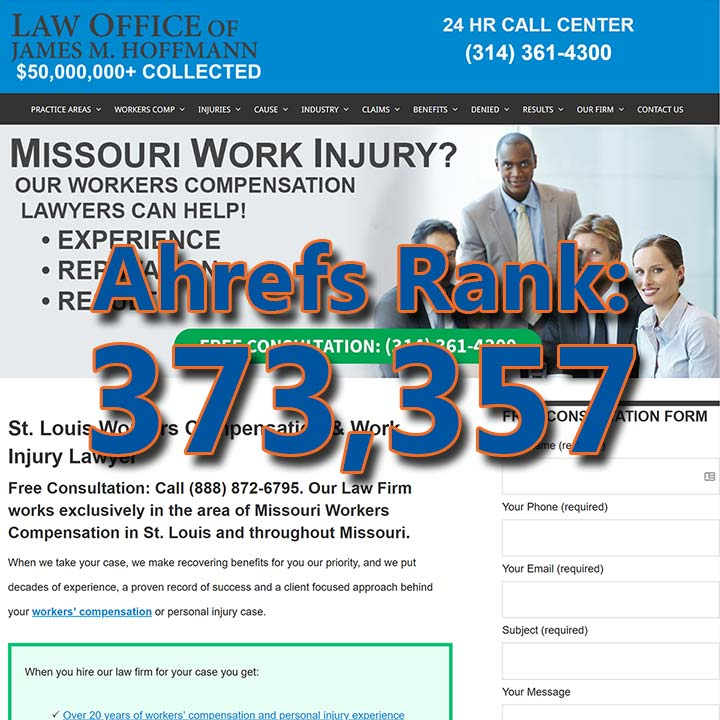 St Louis Work Injury Lawyer